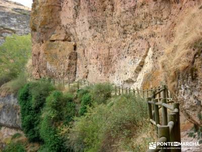 Hoces Río Duratón - Villa Sepúlveda; mundo amigo viajes madeira trekking
